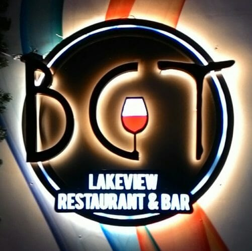 3D Acrylic Cut Out With Backlit & Front Lit LED restaurant sign board